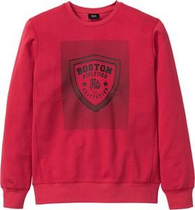 Czerwona bluza bonprix bpc bonprix collection