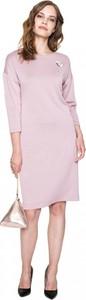 Różowa sukienka L'AF