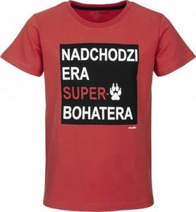 Czerwona koszulka dziecięca Endo