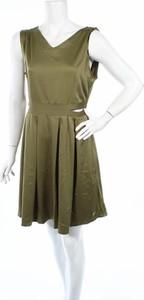Zielona sukienka Lofty Manner bez rękawów