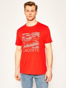 T-shirt Lacoste z krótkim rękawem