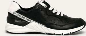 Sneakersy Marco Tozzi sznurowane