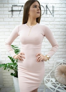 Sukienka Fason z bawełny dopasowana mini