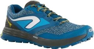 Niebieskie buty sportowe Kalenji w sportowym stylu
