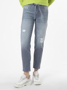 Niebieskie jeansy MAC z jeansu