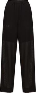 Spodnie Y-3 w stylu retro z tkaniny