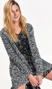 Sweter Top Secret z dzianiny w stylu casual