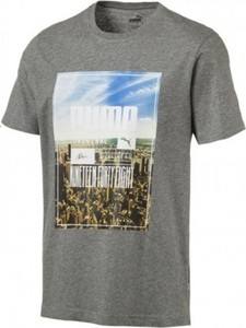 T-shirt Puma z krótkim rękawem z nadrukiem