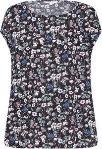Bluzka Tom Tailor Denim z okrągłym dekoltem