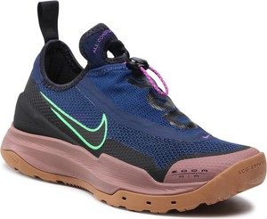 Granatowe buty sportowe Nike zoom sznurowane