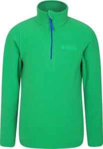 Zielona bluza dziecięca Mountain Warehouse