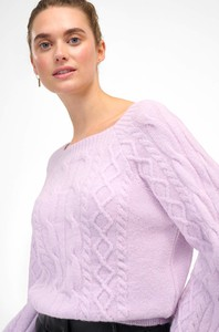 Różowy sweter ORSAY z dzianiny