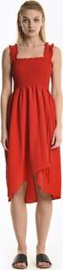 Czerwona sukienka Gate midi