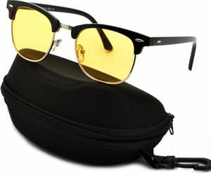 Stylion Rozjaśniające okulary do Jazdy Nocą dla kierowców Clubmaster ST102