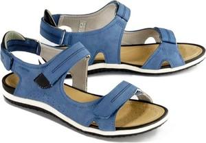 Niebieskie sandały Geox w stylu casual