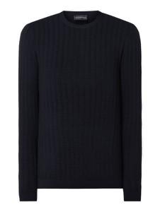 Czarny sweter Emporio Armani