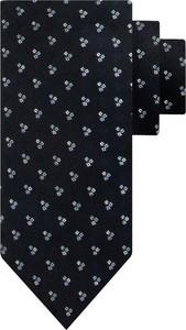 Czarny krawat Boss