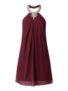 Sukienka Laona oversize mini z okrągłym dekoltem