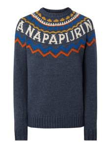 Sweter Napapijri z dzianiny