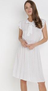 Sukienka born2be mini z krótkim rękawem trapezowa