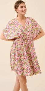 Sukienka ORSAY z tkaniny z krótkim rękawem mini