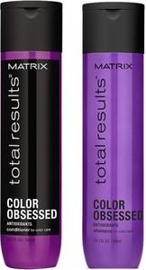 Matrix Total Results Color Obsessed Zestaw pielęgnujący włosy farbowane, szampon 300ml i odżywka 300ml