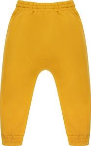 Żółte spodnie dziecięce IgiBu dla dziewczynek