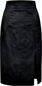 Czarna spódnica MARLU midi