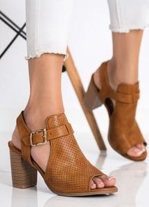 Sandały Czasnabuty ze skóry