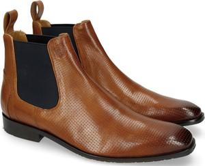 Buty zimowe Melvin & Hamilton z zamszu w stylu klasycznym