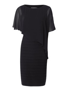 Czarna sukienka Christian Berg Cocktail mini w stylu casual