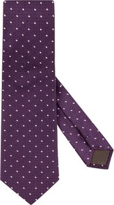Fioletowy krawat Eterna
