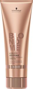 Schwarzkopf Blond Me Keratin Restore All Blondes   Wzmacniający szampon do włosów blond 250ml - Wysyłka w 24H!
