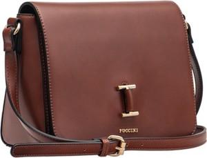 Brązowa torebka PUCCINI w stylu casual