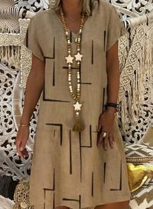 Brązowa sukienka Sandbella mini