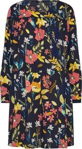 Sukienka Only z okrągłym dekoltem mini oversize