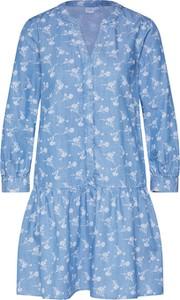 Sukienka Gap z dekoltem w kształcie litery v z długim rękawem mini