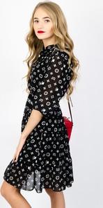 Sukienka Olika w stylu casual z długim rękawem midi