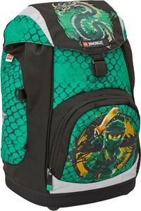 Zielony plecak Lego