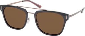 Czarne okulary damskie Galzani