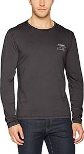 Brązowy t-shirt amazon.de z długim rękawem