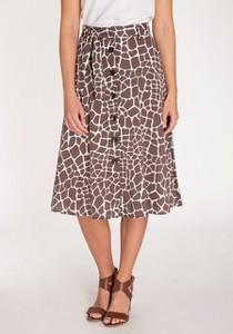 Spódnica Olsen midi w stylu casual