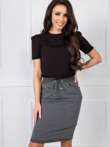 Spódnica Basic z dresówki w stylu casual