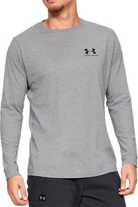 UNDER ARMOUR SPORTSTYLE LEFT CHEST LONG SLEEVE > 1329585-036