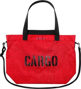 Czerwona torebka CARGO by OWEE w młodzieżowym stylu duża