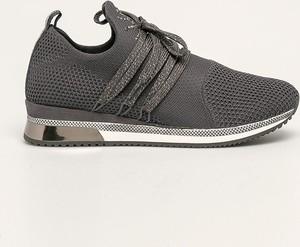 Buty sportowe Marco Tozzi sznurowane na platformie