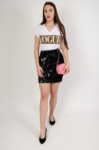 Spódnica Olika w stylu glamour