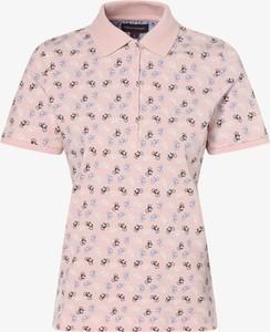 T-shirt Franco Callegari z nadrukiem z krótkim rękawem w stylu casual