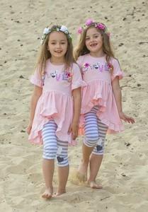 Różowy komplet dziecięcy Kids By Voga