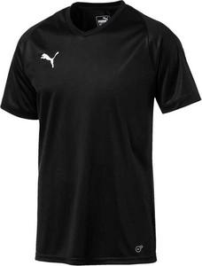 T-shirt Puma w sportowym stylu z dżerseju z krótkim rękawem